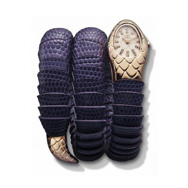 Orologio Wintex Serpe Pelle Purple-Rosè - Gioielleria Senatore - www.gioielleriasenatore.it