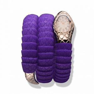 Orologio Wintex Serpe Purple-Rosè - Gioielleria Senatore - www.gioielleriasenatore.it