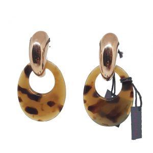 Orecchini Fraleoni 79T con creola tartaruga - Gioielleria Senatore - www.gioielleriasenatore