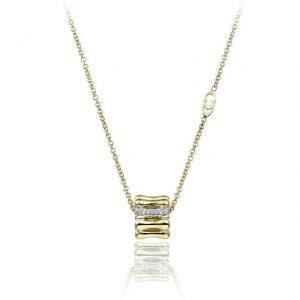 Collana Chimento Bamboo Over oro e diamanti - Gioielleria Senatore - www.gioielleriasenatore