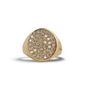 Anello Gold Bianco Scognamiglio Gioielli - Gioielleria Senatore Online Shop - www.gioielleriasenatore.it