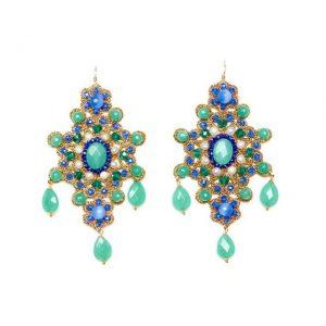 Orecchini Paola Parrinello Blue - Gioielleria Senatore Online Shop - www.gioielleriasenatore.it