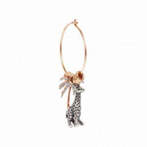 Orecchino con giraffa Maman et Sophie - Gioielleria Senatore Online Shop - www.gioielleriasenatore.it