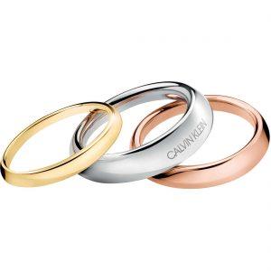 set- 3 anelli-donna-gioielli-calvin-klein-groovy-KJ8QDR300107- gioielleria senatore