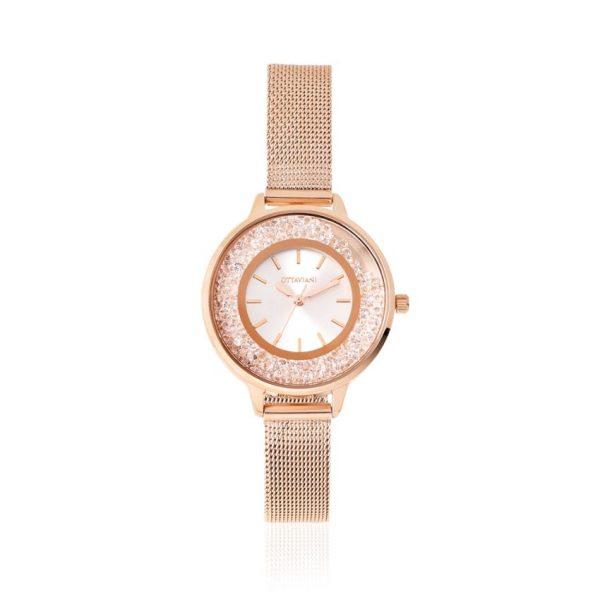 orologio-donna-rose-gold-strass-ottaviani-gioielleria-senatore