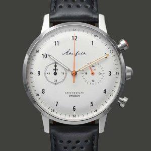 orologio-akerfalk-chronograph-silver-case-gioielleria-senatore